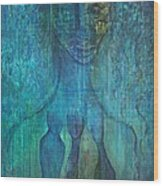 Inner Guidance Wood Print by Indigo Carlton
