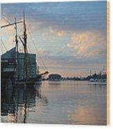 Inner Harbor610 Wood Print