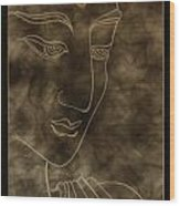 Inner Self Peace Wood Print by Aixa Rios
