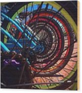 Inner Wheels  Wood Print