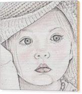 Innocence  Wood Print by Beverly Marshall