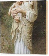 Innocence Wood Print by William Bouguereau