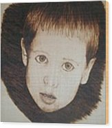 Innocent Wood Print
