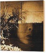 Innocents Reflection  Wood Print