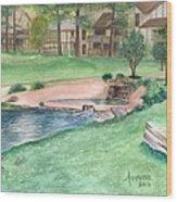 Innsbrook Hole 9 Wood Print