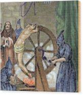 Inquisition Instrument Of Torture Wood Print