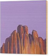 Inscription Rock Wood Print