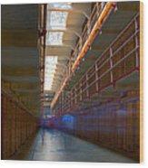 Inside Alcatraz Wood Print