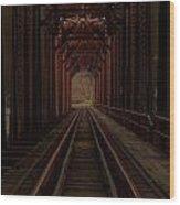 Inside Wood Print
