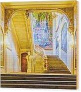 Inside Capitole De Toulouse Wood Print