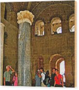 Inside Church Of Saint Nicholas In Myra-turkey Wood Print