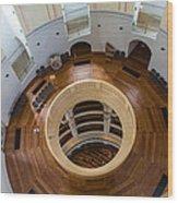 Inside Frauenkirche Dome Wood Print
