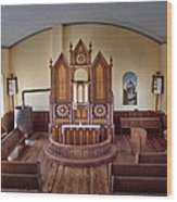 Inside St Olaf Lutheran Church Wood Print