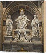 Inside St Peters Basiclica - Vatican Rome Wood Print