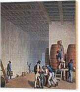 Inside The Distillery, From Ten Views Wood Print