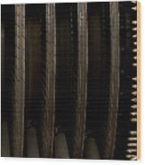 Inside The Engine Wood Print by Christi Kraft