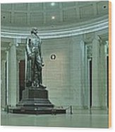 Inside The Jefferson Memorial Wood Print