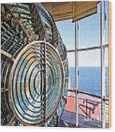 Inside The Lighthouse Wood Print