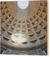 Inside The Pantheon - Rome - Italy Wood Print