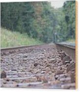 Inside The Rails Wood Print
