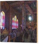 Inside The Sanctuary Wood Print