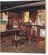 Inside Tibetan House Wood Print