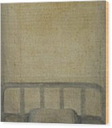 Insomnia - Lying On The Back Wood Print