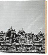 Inspiration At Borobudur Wood Print