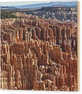 Inspiration Point Bryce Canyon Wood Print