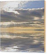 Inspiration Reflection Wood Print