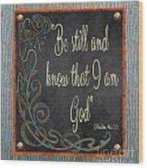 Inspirational Chalkboard-b2 Wood Print
