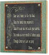 Inspirational Chalkboard-d2 Wood Print