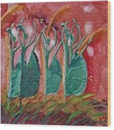 Inspired Dance Wood Print