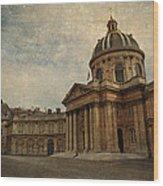 Institut De France  Wood Print