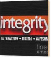 Integrity Wood Print