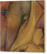 Intensity In Glass Wood Print