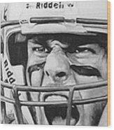 Intensity Tom Brady Wood Print