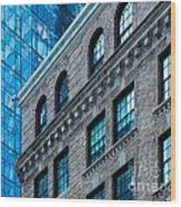 Intercontinental New And Old Wood Print