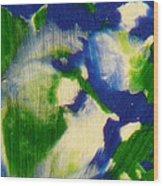 Intergalactic Observer Wood Print