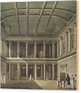 Interior Of Concert Room, From Bath Wood Print