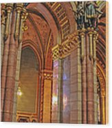 Interior Of Hungarian Parliament Wood Print