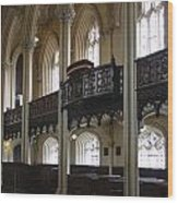 Interior Of The Chapel Royal - Dublin Castle Wood Print