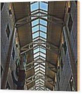 Interior Skylight Wood Print