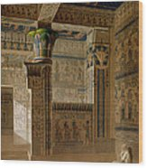 Interior View Of The West Temple Wood Print by Le Pere