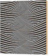 Interlaced Wood Print