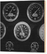 Internal Mechanics Uss Bowfin Pearl Harbor V3 Wood Print