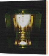 Internal Reflections Wood Print