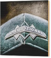 International Grille Emblem -0741ac Wood Print