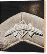 International Grille Emblem -0741s Wood Print