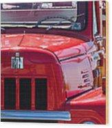 International Harvester R-185 Wood Print